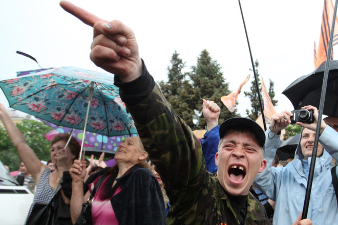 """Новости """"Новороссии"""": на Луганщине сепаратизм, часть области хочет отделяться от """"ЛНР"""""""