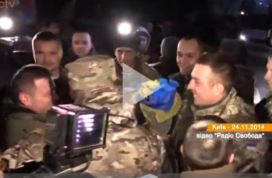 """Украинские """"киборги"""" прибыли в отпуск"""