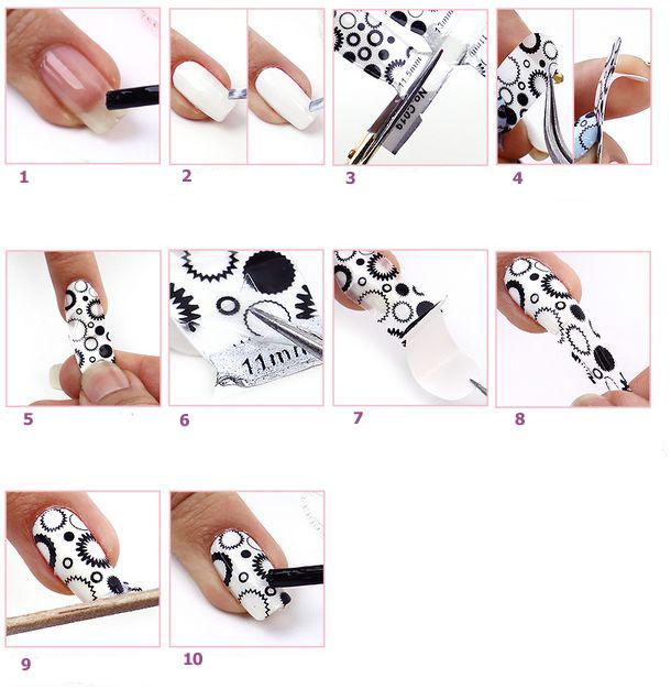 Открытка, простые и красивые рисунки на ногтях для начинающих пошагово видео