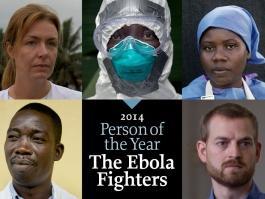 «Человек года – 2014»: престижное звание получат борцы с лихорадкой Эбола