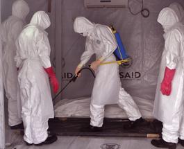 Лихорадка Эбола: в западной Африке остается 100 очагов распространения болезни