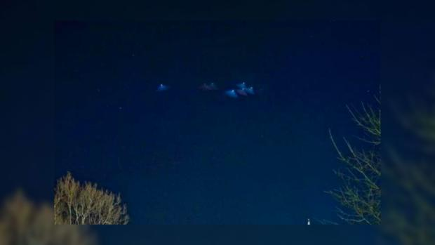 """Казахские астрономы обнаружили новогоднюю """"гирлянду"""" из НЛО"""