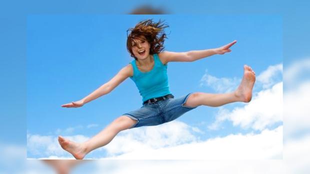 Прыгание в борьбе с лишним весом