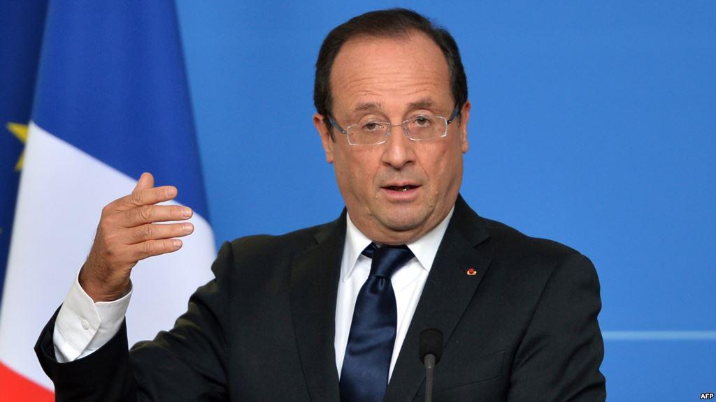 Франсуа Олланд.