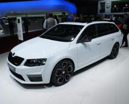 Новинки авто: в Женеве представлена мощнейшая Skoda Octavia