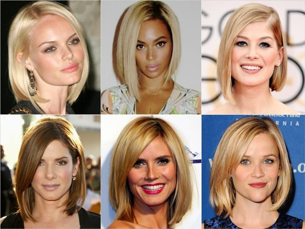 Модные прически 2016 женские на средние волосы фото для разных