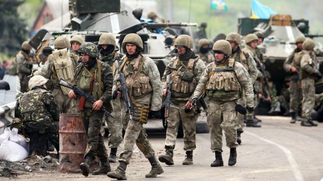 ВМинобороны рассказали околичестве участников боевых действий иззоны АТО