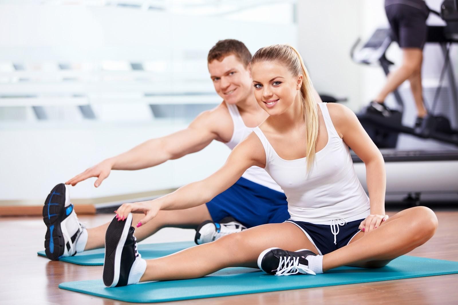 Фитнес и красота картинки