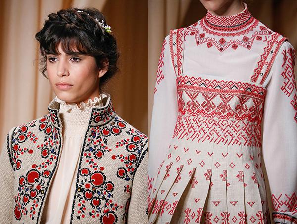 Напутствия от Vogue: вышиванка - обязательный must-have ... эмма уотсон инстаграм