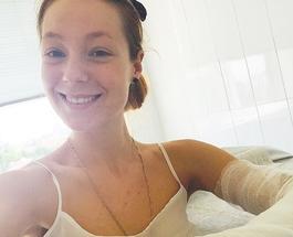 Светлана Тарабарова на велопрогулке сломала руку