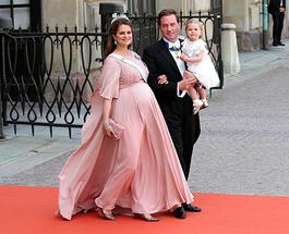 Шведская принцесса Мадлен впервые показала своего новорожденного сына