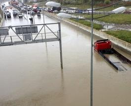 Потоп в Сочи отступает, циклон ушел на Москву