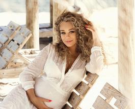 Яна Соломко показала, как выглядит красивая беременная женщина
