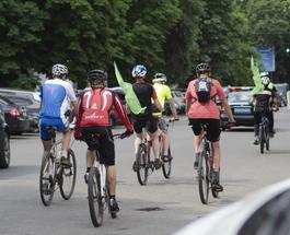 """Незрячие люди на велосипедах доехали со Львова в Черкассы в рамках велопробега """"Вижу! Могу! Помогу!"""""""