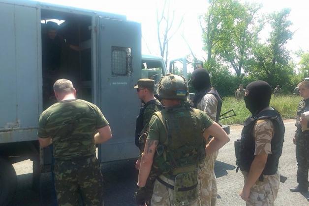 Девять осужденных передали Украине из оккупированной территории
