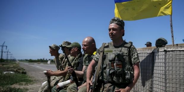 Ситуация в зоне АТО контролируется украинскими военными : Новости УНИАН