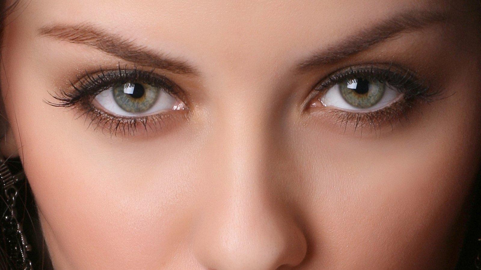 Как сделать выразительные глазашоп