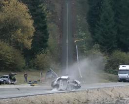 Краш тест от Dynamic Test Center AG – столкновение авто со скоростью в 200 км/час