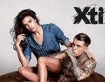 Ирина Шейк снялась в рекламной кампании известного бренда обуви