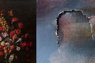 Культурный шок века: подросток на выставке порвал уникальную 350-летнюю картину, стоимостью 1,5 млн евро