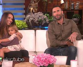 """Фронтмен """"Maroon 5"""" Адам Левин встретился с девочкой, которая разрыдалась от новости о его женитьбе"""