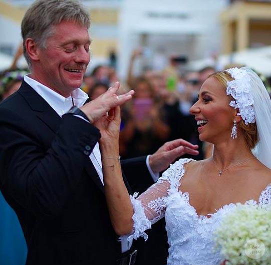 свадьба пескова и навки фото со свадьбы
