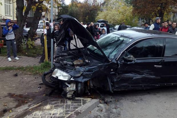 Авария в в ивано франковске