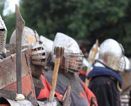 Под Киевом состоится финал годового турнира по рыцарским боям