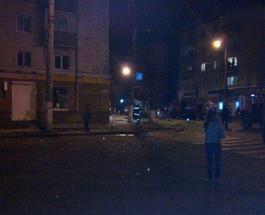 Ночью жители Житомира содрогнулись от взрыва, который прогремел в центре города