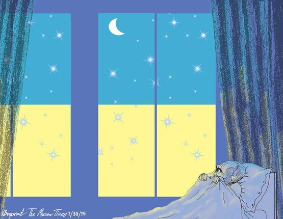 Страшный сон: в украинском конкурсе карикатур на В.В. Путина победил россиянин