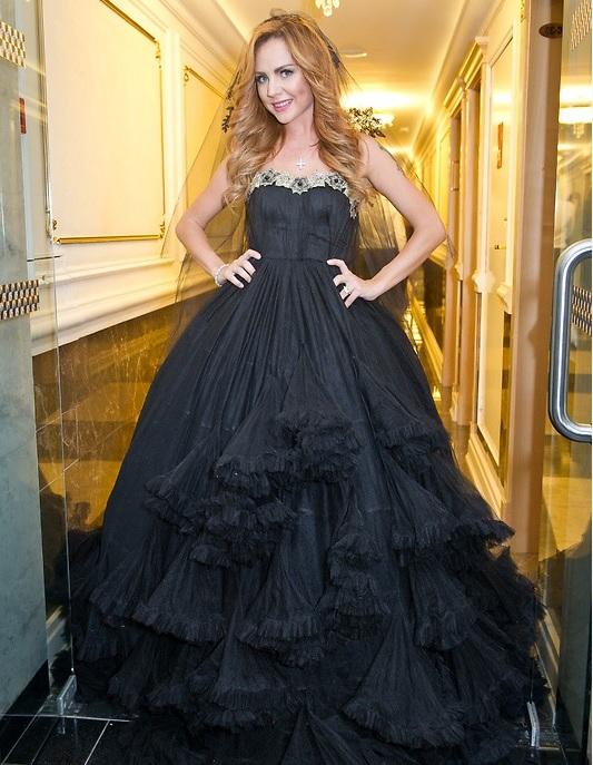 Свадебное платье максим певицы