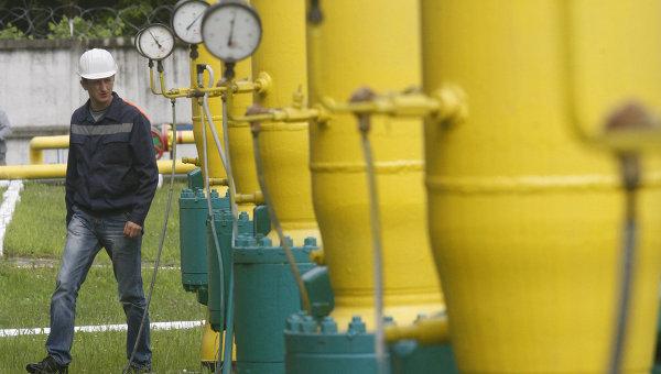 Россия приостановила поставки газа на Украину