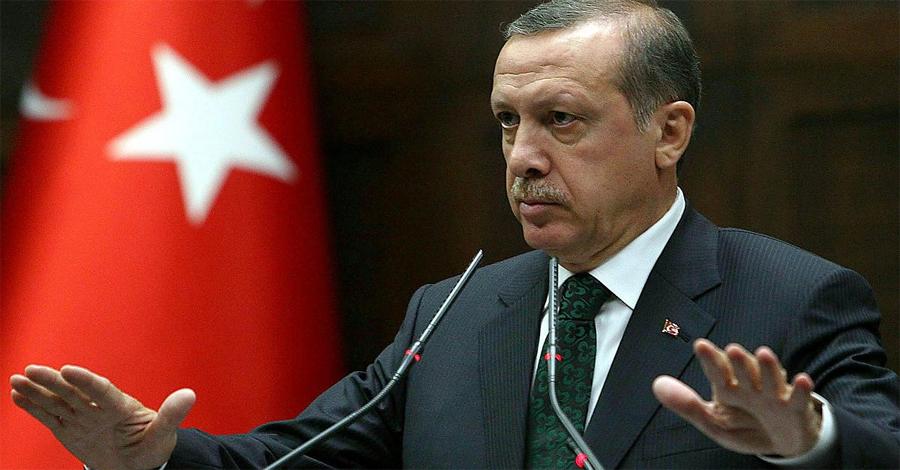Эрдоган заявил о раненых при падении обломков Су-24 на территории Турции