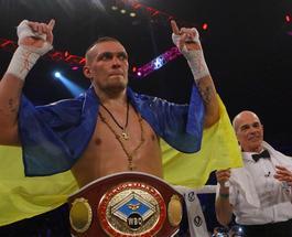 Александр Усик стал лидером рейтинга WBO в своем весе