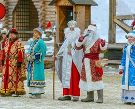 Главная украинская резиденция Деда Мороза открывается в Древнем Киеве