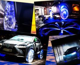 Интересное видео: Lexus NX теперь на ледяных колесах