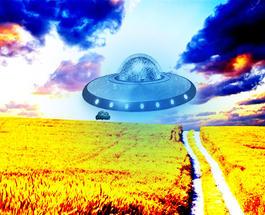 """Новое видео НЛО: """"инопланетяне"""" прилетели в Ужгород полюбоваться красотами Закарпатья"""