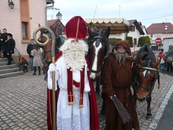 Во Франции похищены сани Деда Мороза