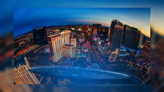 Жители Лас-Вегаса в недоумении от того, что пролетело над ними