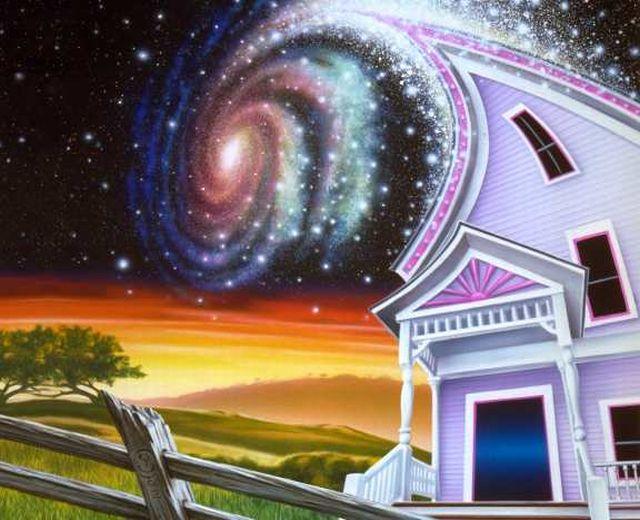 Картинка доброго дома с хорошей энергией