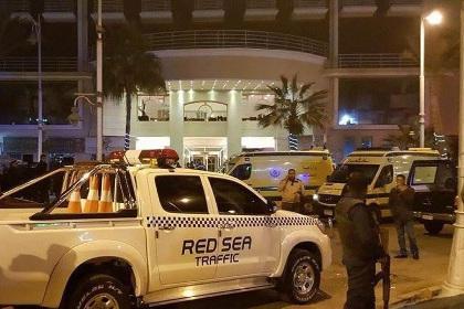 В Хургаде совершено нападение на отель