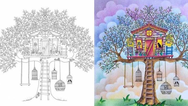 Раскраски secret garden