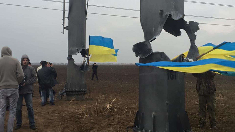 ВКрыму сообщили об заключительном отказе отукраинской электрической энергии