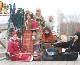 """""""Парк Киевская Русь"""" в последние выходные февраля приглашает на проводы зимы"""