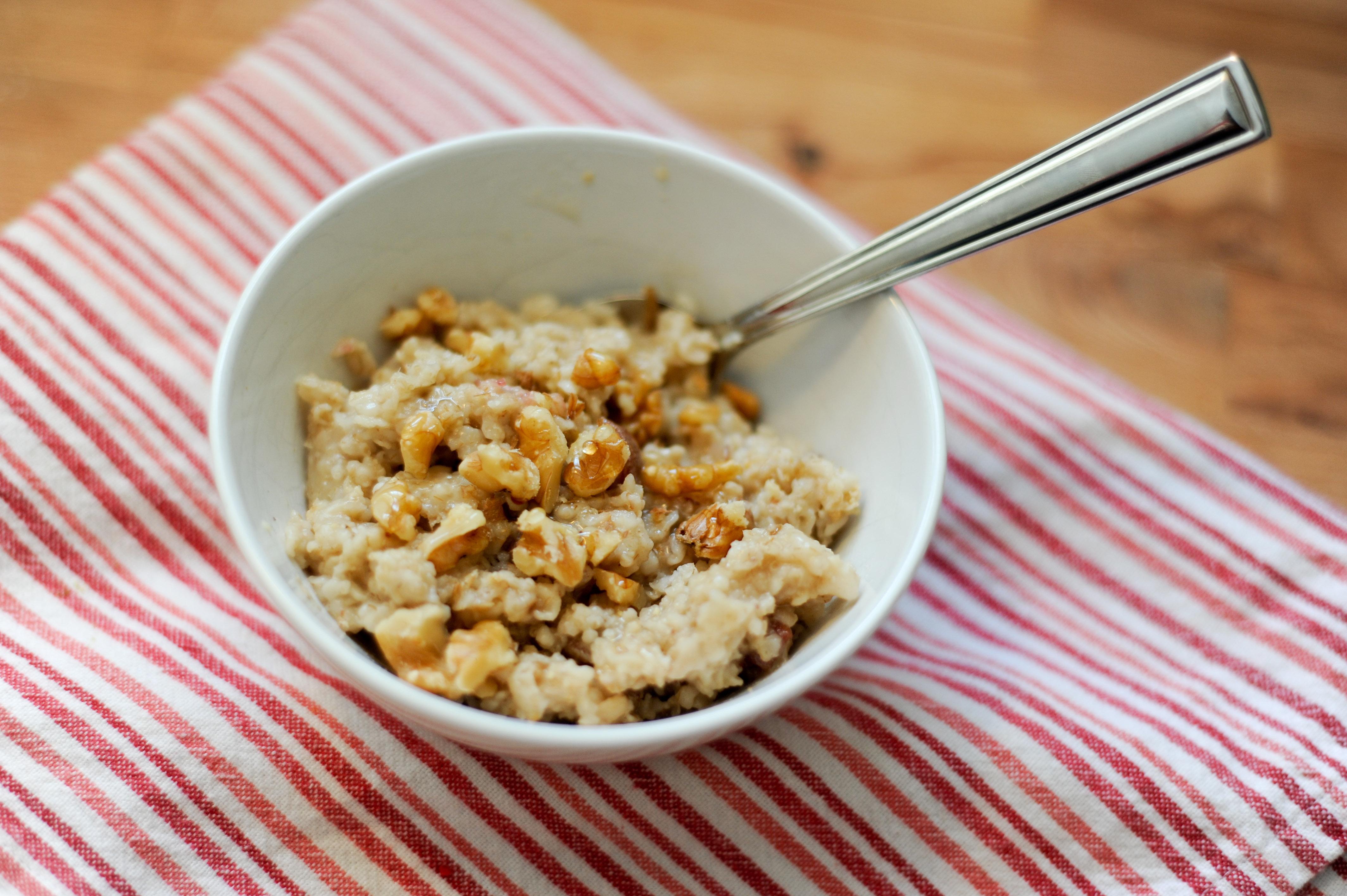 Завтрак рисом для похудения