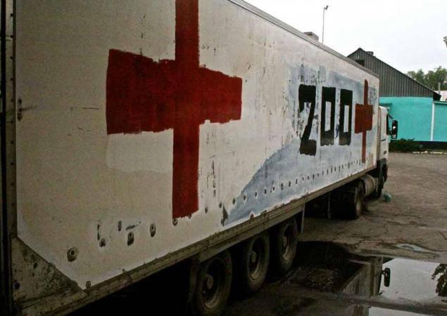 """Наблюдатели ОБСЕ заметили фургон с надписью """"Груз 200"""", пересекший украинско-российскую границу на Донбассе - Цензор.НЕТ 3253"""