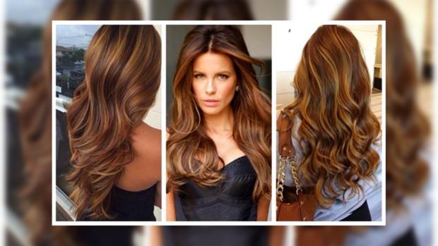как модно покрасить длинные волосы
