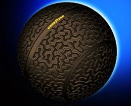 ТопЖыр: производитель авторезины Goodyear презентовал шины в форме шара