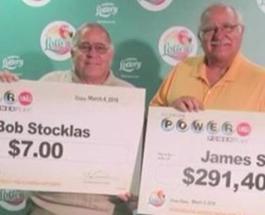 Колесо фортуны: в США судья выиграл в лотерею $291 млн, а его брат в том же тираже всего $7