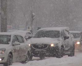Полиция предупреждает о сильном снегопаде в Украине